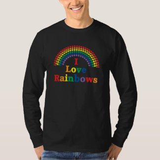 I Love Rainbows Gay Gift T-Shirt