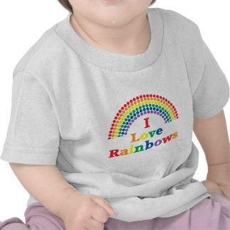 I Love Rainbows Gay Gift Tshirts