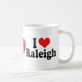 I Love Raleigh Coffee Mug