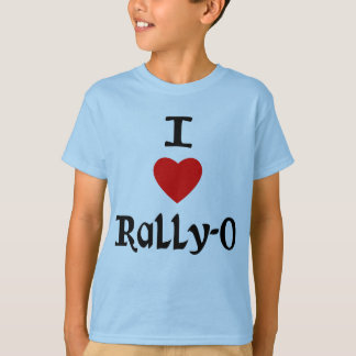 I Love Rally-O T-Shirt