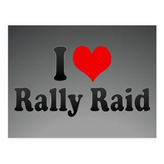 I love Rally Raid Post Card