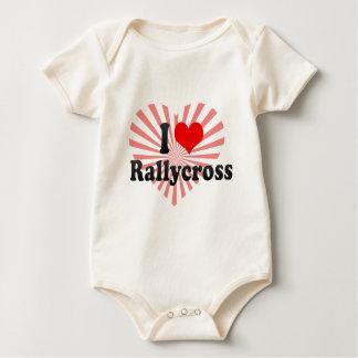 I love Rallycross Baby Bodysuit