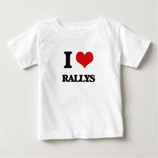 I Love Rallys T Shirt