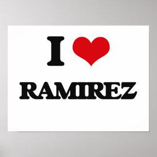 I Love Ramirez Poster