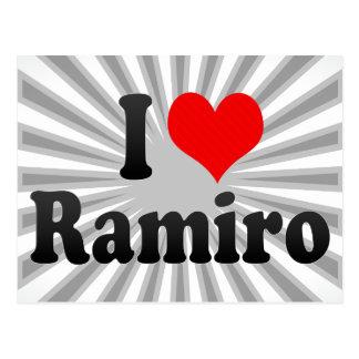 I love Ramiro Postcard