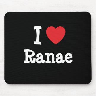 I love Ranae heart T-Shirt Mouse Pad