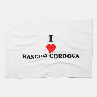 I love Rancho Cordova Hand Towel