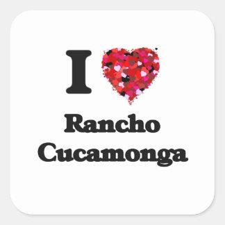 I love Rancho Cucamonga California Square Sticker