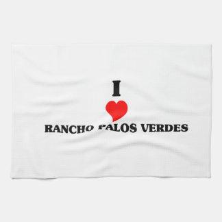 I love Rancho Palos Verdes Kitchen Towels