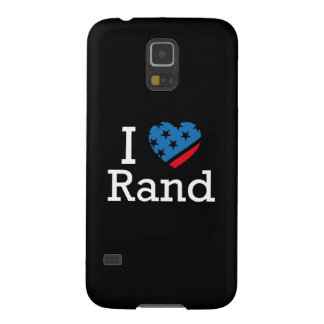 I Love Rand Case For Galaxy S5