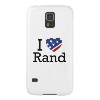 I Love Rand Galaxy S5 Case