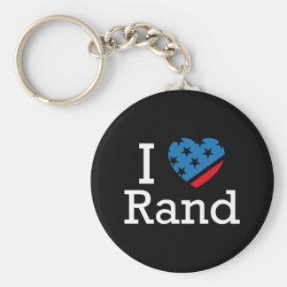 I Love Rand Keychain