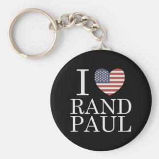 I Love Rand Paul Keychain