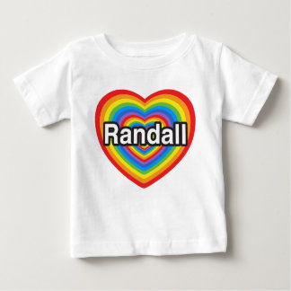 I love Randall. I love you Randall. Heart Baby T-Shirt
