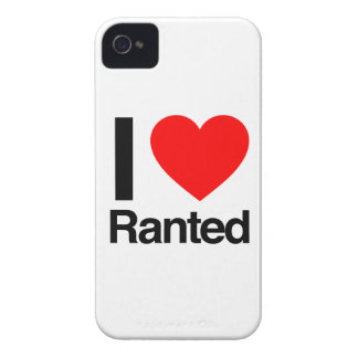 i love ranted Case-Mate iPhone 4 cases