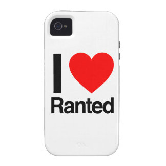 i love ranted vibe iPhone 4 cases