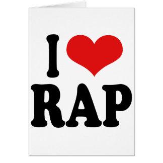 I Love Rap Card