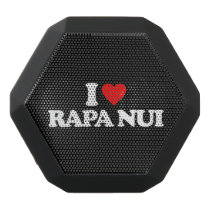 I LOVE RAPA NUI BLACK BLUETOOTH SPEAKER