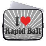 I love Rapid Ball Laptop Sleeves