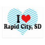 I Love Rapid City, SD Post Cards