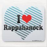 I Love Rappahanock Mouse Pad