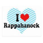 I Love Rappahanock Postcard