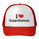 I Love Rappahanock Trucker Hat