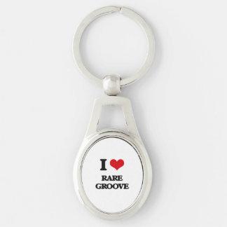 I Love RARE GROOVE Key Chain