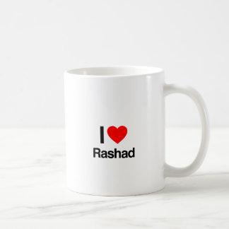 i love rashad coffee mug