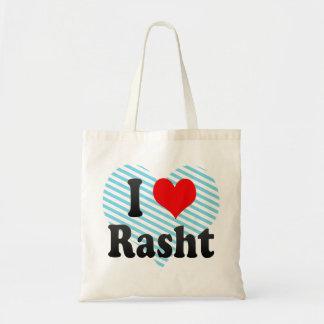 I Love Rasht, Iran Budget Tote Bag