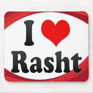I Love Rasht, Iran Mouse Pad