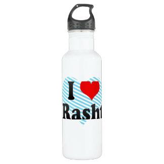 I Love Rasht, Iran 24oz Water Bottle