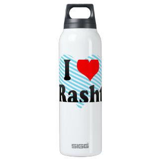 I Love Rasht, Iran 16 Oz Insulated SIGG Thermos Water Bottle
