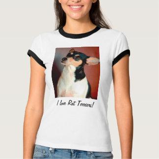 I Love Rat Terriers! T-Shirt