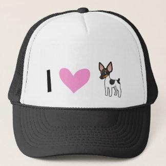 I Love Rat Terriers / Toy Fox Terriers Trucker Hat