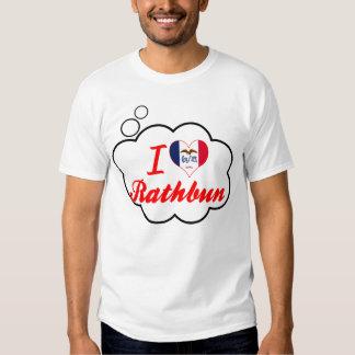 I Love Rathbun, Iowa Tee Shirt