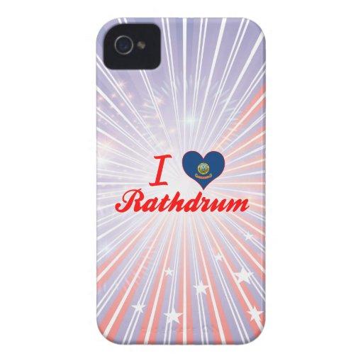 I Love Rathdrum, Idaho iPhone 4 Case-Mate Case