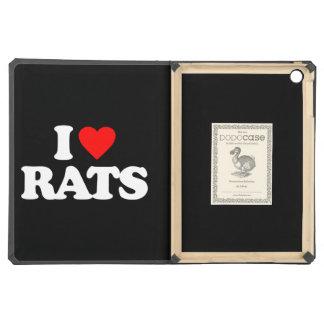 I LOVE RATS iPad AIR CASE
