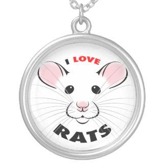 I Love Rats Necklace