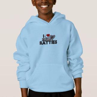 I Love Ratties Hoodie