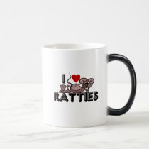 I Love Ratties Magic Mug