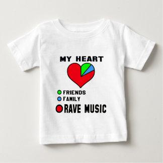 I love Rave. Baby T-Shirt