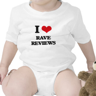 I Love Rave Reviews Rompers