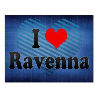 I Love Ravenna, Italy Postcard