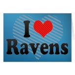I Love Ravens Cards
