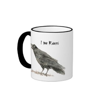 I love Ravens Mug mug