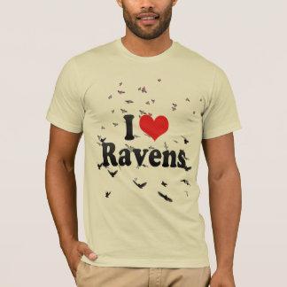 I Love Ravens T-Shirt