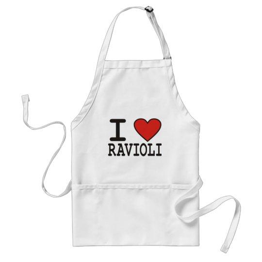 I Love Ravioli Adult Apron