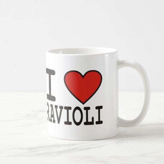 I Love Ravioli Coffee Mug