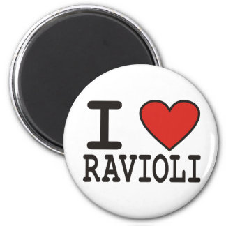 I Love Ravioli Magnet